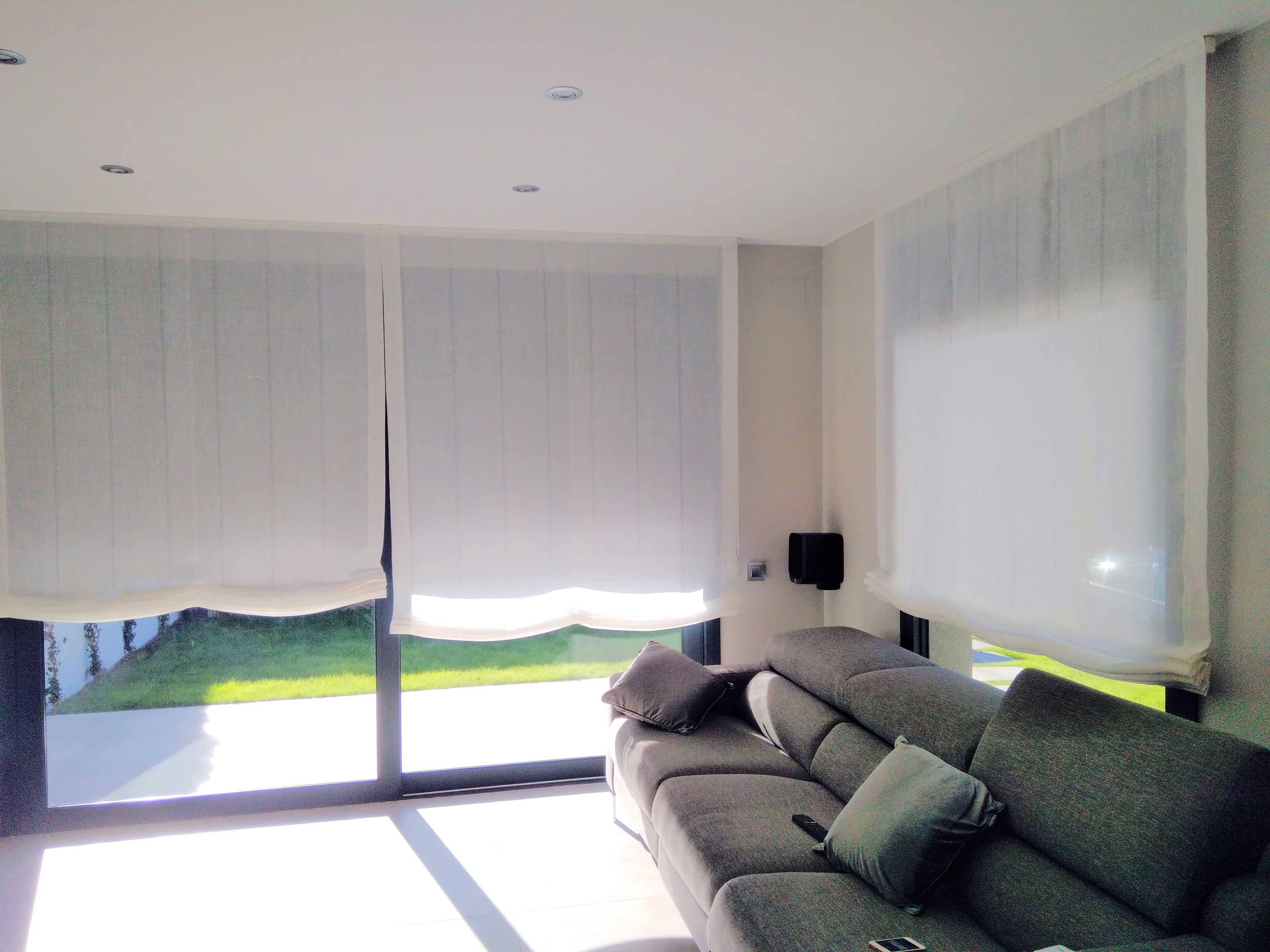 Estores cortinas tecnicas cortitecnic - Estor con cortina ...