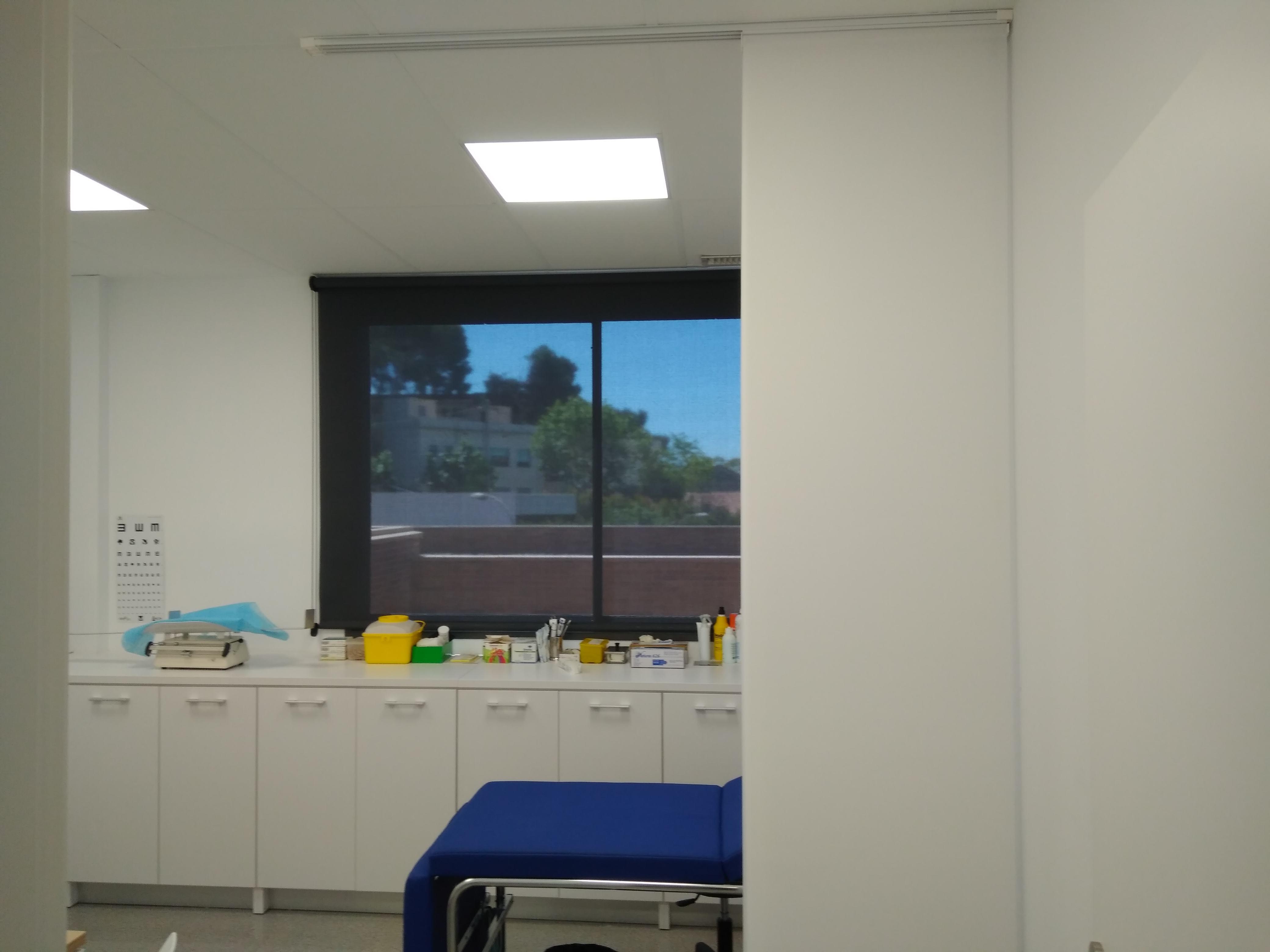 cortinas hospitalarias